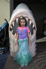 Getting Better At Acting (evaxebra) Tags: long beach aquarium pacific aquariumofthepacific california dawn january 2019 luna mermaid ariel costume