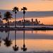 Twilight Miami Skyline