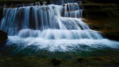 Liquify (Jim Nix / Nomadic Pursuits) Tags: jimnix austin texas waterfall bullcreek bullcreekgreenbelt nature creek river stream sony sonya7ii longexposure 24240mm hike luminar skylum topazstudio
