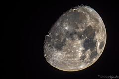 Mond (Norbert Helbig) Tags: nikon d7200 astro astronomie mond moon outdoor nacht night himmel