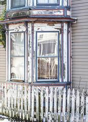 Day 52 of 365 - Age (gcarmilla) Tags: window finestra fence old age crusty harrisonburg