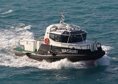 Wariruri (Gerry Hill) Tags: a2260 boat ship wariruri stormer p120 pilot harbour vessel oranjestad aruba netherlands antilles caribbean windward leaward sea ocean marella tui explorer