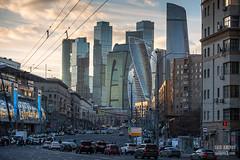H18A6357 (Said Aminov) Tags: москва закат россия город moscow city sunset river bridge building march street sky ship