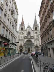 Église Saint-Nizier from Rue des Bouquetiers, Lyon, France (Paul McClure DC) Tags: lyon france july2017 auvergnerhônealpes presquîle architecture historic church
