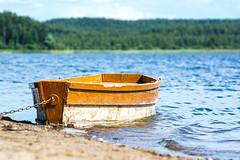Поплывём? (Yuriy Kuzmenok) Tags: лодка озеро сапшо вода
