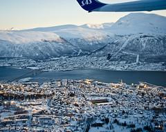 Ha det, Tromso (SBA73) Tags: noruega norway norge troms tromso tromsø artic hivern winter neu nieve snow schnee fred frio cold langnes aeroport airport flughaven flugzeug sas 737 aircraft airplane plane flight