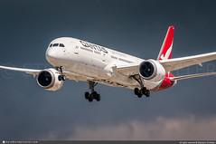 [LAX.2019] #Qantas #QF #Boeing #B787 #B789 #Dreamliner #VH-ZNC #Quokka #awp (CHRISTELER / AeroWorldpictures Team) Tags: qantas australia qf qfa boeing 7879 b787 b789 dreamliner msn39040655 engines ge vhznc quokka named landing plane aircraft airplane avion aviation aeroworldpictures christeler avgeek planespotting losangeles airport lax klax california ca usa darksky nikon d300s nikkor 70300vr nef raw lightroom 2019