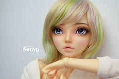 DSC_2139 (sonya_wig) Tags: fairytreewigs wig bjdwig minifeewig bjd bjdminifee minifeechloe handmadedoll bjddoll dollphoto fairyland fairylandminifee minifee chloe bjdphotographycoloringhair