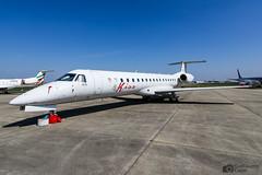 F-HFKE Embraer 145 FlyKiss Enhance Aero Group (Guillaume Carré) Tags: fhfke embraer 145 flykiss enhance aero group spotting clermont ferrand auvergne lflc cfe 2019