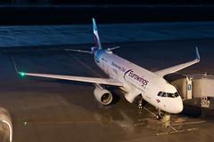 D-AEWM, Eurowings Airbus A320-214 (rengawfalo) Tags: drs airbus a320 airbusa320 flieger flugzeug airport flughafen plane airplane boomerangclub blauestunde rollfeld aviation palnespotter
