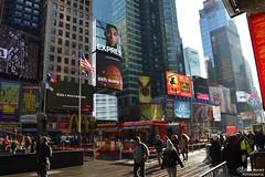 Times Square - NYC (EltonMoreira) Tags: viagem turismo ny usa eua estadosunidos novayork timessquare
