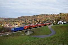 Re 456 111 M-Rail, Rümikon (CH) (Brenno Arcara) Tags: re456 re44 mrail stadler stadlerrail flirt flirtbmu btr813 valledaosta erlen rekingen rümikon überführung aargau schweiz ¨