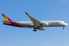 Asiana Airlines (ab-planepictures) Tags: flugzeug asiana airlines airbus a350 lhr egll london heathrow plane flughafen airport aircraft planespotting