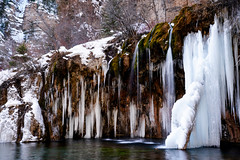 Hanging Lake Ice - Colorado (Bernie Duhamel) Tags: hanginglake ice waterfalls water reflection winter snow snowy greatphotographers teamsony rockymountains sonya7riii sony2470mm bernie duhamel glenwoodsprings colorado
