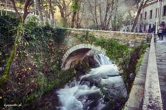 Livadeia (kzappaster) Tags: stonebridge bridge river water erkyna livadeia leivadia voiotia greece samsung samsungnx100 samsungnx nx100 nx 16mm 16mmf24 ifn mirrorless compactsystemcamera pancake longexposure hdr