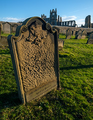 Whitby cemetery erosion (alh1) Tags: northyorkshire stmaryschurch england whitby