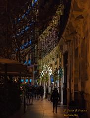 de paseo por Madrid. (F. Javier G. Vialard) Tags: navidad noche luces paseo madrid 35mm sony a68