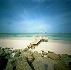the bridge V (skarbonke) Tags: pinhole mopinholecamera film kodakportra160vc 6x6 maldives estenopeica expired