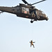 Soldiers practice hoist operations at Camp Nimman Kolayut, Thailand
