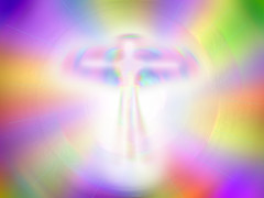 Being of Light (Unearthly Media) Tags: angel god being light entity heaven tunnel guardian afterlife prayer