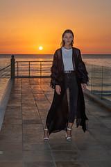 Model at Sunset (Paul Saad) Tags: woman women model faces pretty nikon lebanon beirut