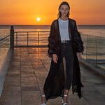 Model at Sunset thumbnail