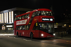 Route N11, Go Ahead London, LT44, LTZ1044 (Jack Marian) Tags: routen11 goaheadlondon lt44 ltz1044 newbusforlondon newroutemaster nb4l ealingbroadway liverpoolstreet actontown buses bus london