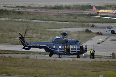 D-HEGM (mduthet) Tags: dhegm eurocopter as332 bundespolizei aéroportmarseilleprovence helicoptères