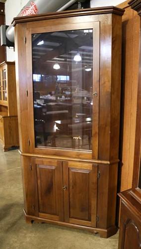 Hand Crafted Walnut Corner Cupboard ($476.00)