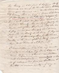 ASH2-034b Letter from G E Jemmett, Ashford, 20 May 1828 (audinary_music) Tags: ashford kent