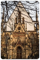 St Thomas Church among the branches (nickyt739) Tags: saint st thomas church branches trees religion chapel architecture leipzig germany europe building dramatic nikon dslr d750 fx explore traveler travel