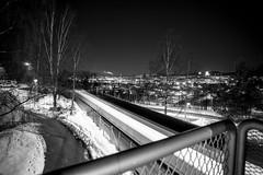 Trosterud (morten f) Tags: trosterud oslo norge norway tbane 2019 stasjon metro monochrome kveld night