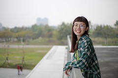 衛武營拍拍   高雄Kaohsiung (ibgsaker) Tags: 50mm view canon portrait taiwan kaohsiung