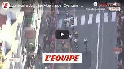 Milano-Sanremo, Julian Alaphilippe vince in volata - VIDEO