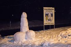 181212 Schneepenis (Bernd März) Tags: berndmärz schnee glätte eis eisglätte winter 50cmneuschnee neuschnee weiseweihnacht schneepenis penisausschnee forchheim