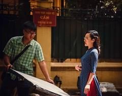 Hanoi Street (Rod Waddington) Tags: asia asian vietnam vietnamese hanoi streetphotography street woman man reflector candid culture cultural reporter tv happyplanet asiafavorites