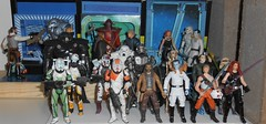 Hasbro - Expanded Universe (Darth Ray) Tags: new hasbro star wars expanded universe figures shelf overflow eu