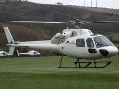 G-PASH Aerospatiale Twin Squirrel AS.355F1 Helicopter ( MW Helicopters) (Aircaft @ Gloucestershire Airport By James) Tags: cheltenham helipad gpash aerospatiale twin squirrel as355f1 helicopter mw helicopters egbc james lloyds