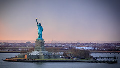 Liberty (Robgreen13) Tags: usa newyorknewyork nyc libertyisland newyorkharbor statueofliberty manhattan landscape urban architecture