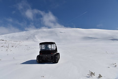 Sky Above Me, Earth Below ... And The Joy Inside! (Zircon_215) Tags: snow annieopsquotchmountains mountains slope spring route480 argo atv allterrainvehicle argoavenger750efi