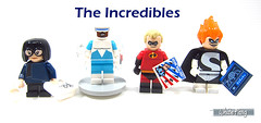 The Incredibles (WhiteFang (Eurobricks)) Tags: lego minifigures cmfs collectable walt disney mickey characters licensed design personality animated animation movies blockbuster cartoon fiction story fairytale series magic magical theme park medieval stories soundtrack vault franchise review ancient god mythical town city costume space