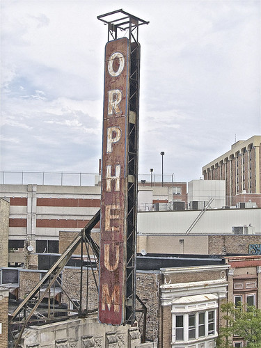Origional 1927 ORPHEUM THEATER Sign ...