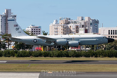 Registration:62-4130 Airline:USAF United States Air Force Aircraft Type:Boeing RC-135W (717-158) cn / ln :18470 Location:San Juan Luis Muñoz Marín International, Puerto Rico Date17 March, 2019 Remark:Yahoo99 arriving in SJU ILS8. (Hector A Rivera Valentin) Tags: puertoricodate17march 2019remarkyahoo99arrivinginsjuils8 yahoo99 rc135w usaf air force 624130