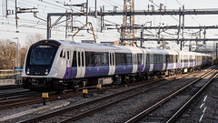345028 (JOHN BRACE) Tags: 2016 bombardier derby built class 345 adventra cross rail emu 345028 seen reading station test train elizabeth line livery