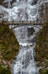 Multnomah Falls #9 (maytag97) Tags: maytag97 nikon d750 winter season waterfall ice frozen water icicle benson bridge cliff geology falls multnomah nature river oregon landscape columbia gorge cold snow white beautiful scenic beauty outdoor area background natural travel object tourism motion vertical weather freeze temperature national falling icy