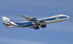 AirBridgeCargo VQ-BLQ, OSL ENGM Gardermoen (Inger Bjørndal Foss) Tags: vqblq airbridgecargo boeing 747 cargo osl engm gardermoen