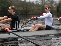 IMG_0956 (NUBCBlueStar) Tags: rowing remo rudern river aviron february march star university sunrise boat blue nubc sculling newcastle london canottaggio tyne hudson thames sweep eight pair