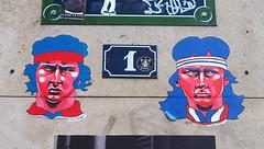Pasted paper by Zelda Bomba [Paris 11e] (biphop) Tags: europe france paris streetart pasted paper pastedup collage wheatpaste wheatpaper zelda bomba zeldabomba borg mcenroe