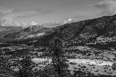 In the Valley (noname_clark) Tags: rockymountainnationalpark outdoor hike snow lillymountain valley blackandwhite