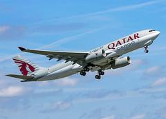 F-WWTS Airbus A330-200F Qatar (@Eurospot) Tags: a7afz fwwts 1406 airbus a330 a330200 qatar toulouse blagnac